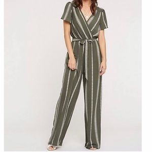 Long green jumpsuit